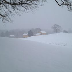 Fenn's Farm, Winter Storm