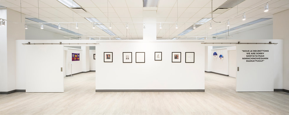 The Withrow Common Art Gallery - without any people present