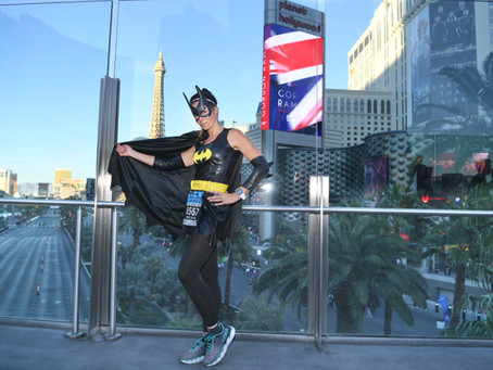 Courir un semi marathon à Vegas… what else ?