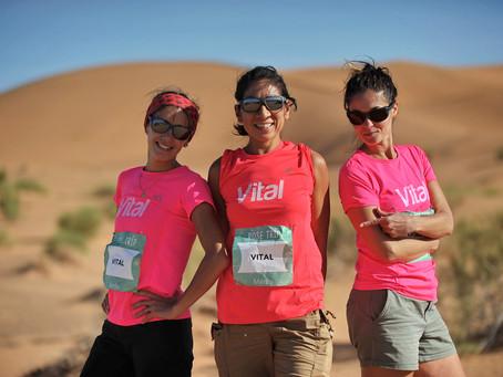 Mon trek d'orientation dans le désert... une aventure extra ordinaire !
