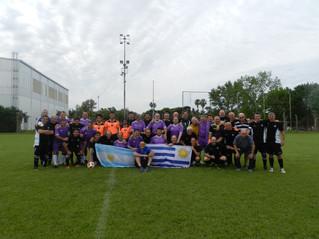 Fútbol Veteranos | Banco disputó dos amistosos internacionales