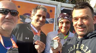 Grupo H20 | Banco estuvo presente en el Medio Maratón de Buenos Aires