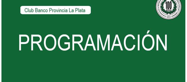 Programación | Club Banco Provincia