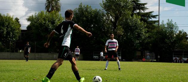 Fútbol Mayores | Primera prueba con goleada para Banco Provincia