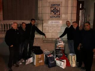 Club Banco Provincia | Banco solidario, se hizo entrega de donaciones
