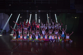 Patín | Circo sobre ruedas, un éxito en City Bell