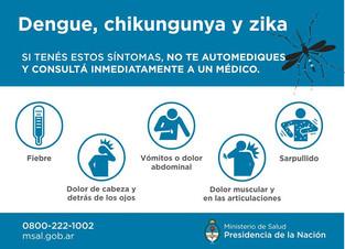 Dengue | Información del Ministerio de Salud para prevenir el dengue