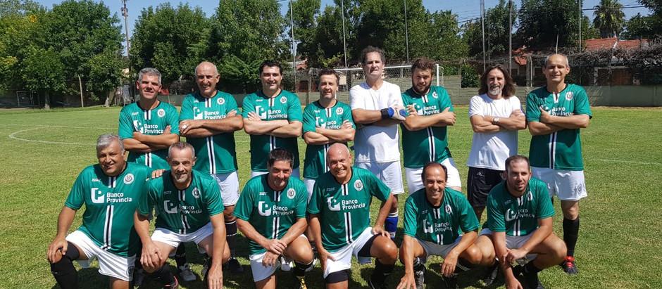 Fútbol Veteranos   Banco tuvo actividad de local