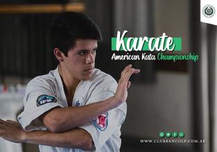 Karate Torneo | American Kata Championship con presencia de Banco Provincia