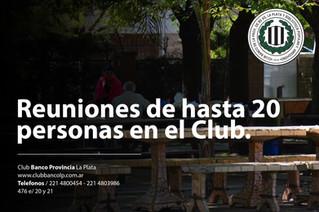 Reuniones permitidas en el Club