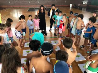 Colonia | Visita de la Dirección de Educación Ambiental de la Municipalidad de La Plata