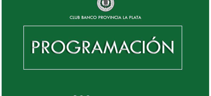 Programación   Club Banco Provincia