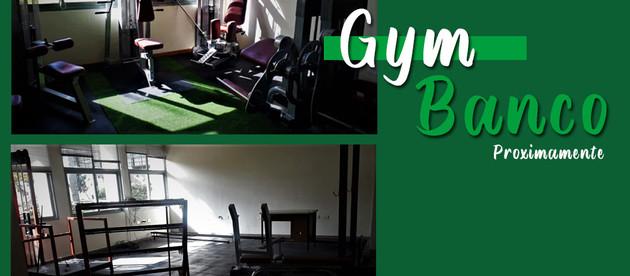 Gym Banco   Nuevo Gimnasio en las instalaciones de Banco