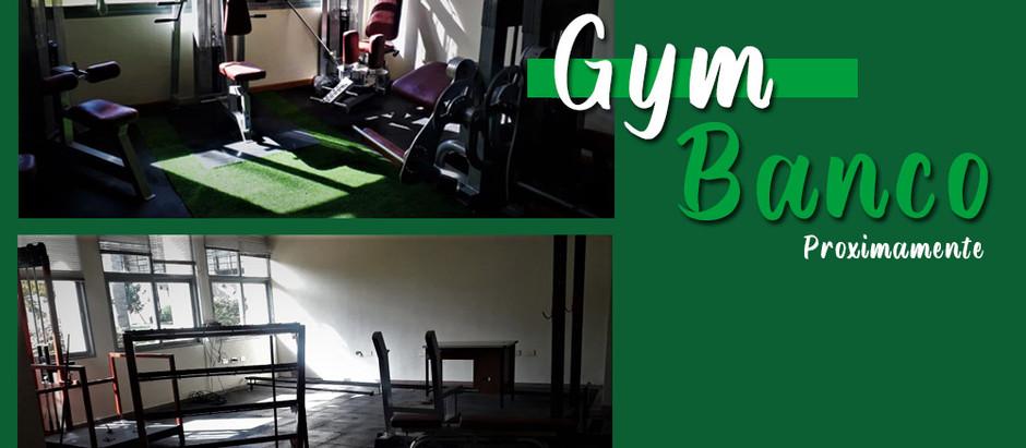 Gym Banco | Nuevo Gimnasio en las instalaciones de Banco