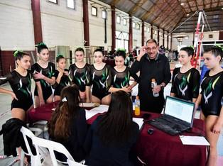 Gimnasia Artística, torneo nivel E y Proyección