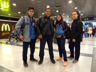 Karate | Karatekas de Banco al Campeonato de Sudamérica de Chile