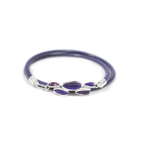 Reflect Purple Friendship Bracelet