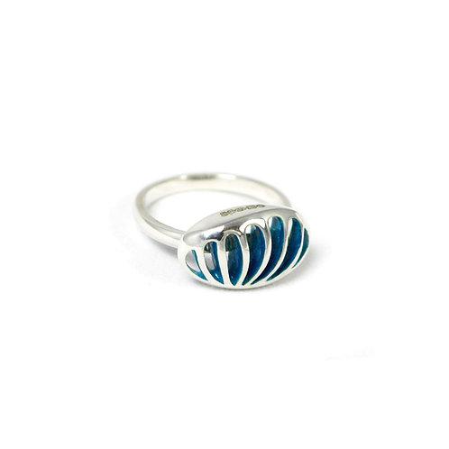 Entropic Oval Landscape Ring