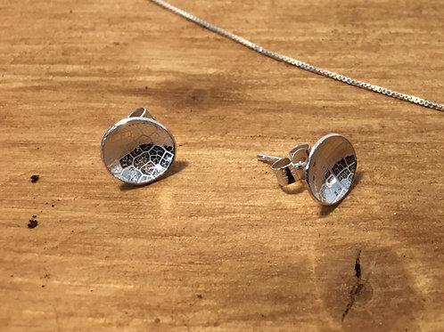Make a Pair of Silver Stud Earrings