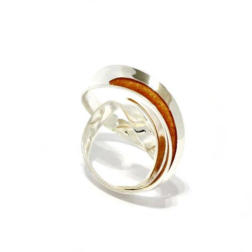 Synergy Swirl Ring