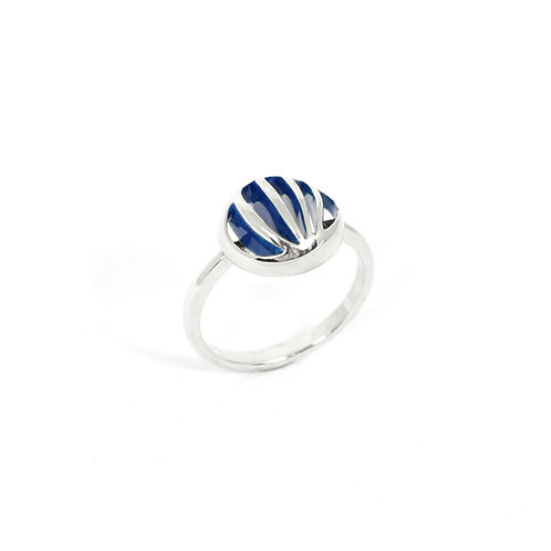 Entropic Round Ring, Blue