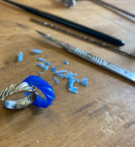 Wax Carved Rings for Casting - 2 Day Workshop