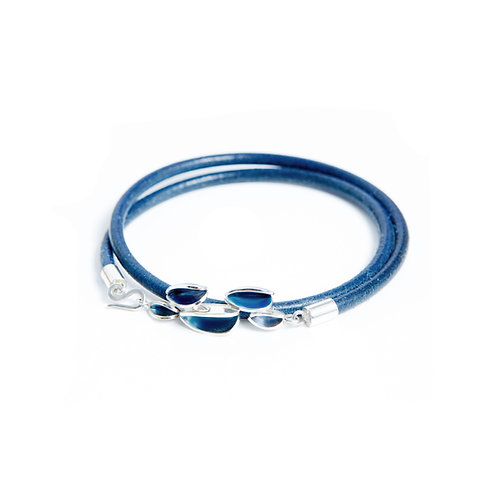 Reflect London Blue Friendship Bracelet