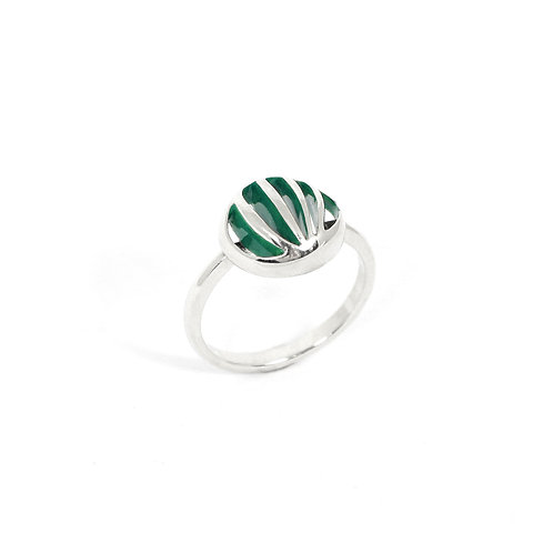 Entropic Round Ring, Green