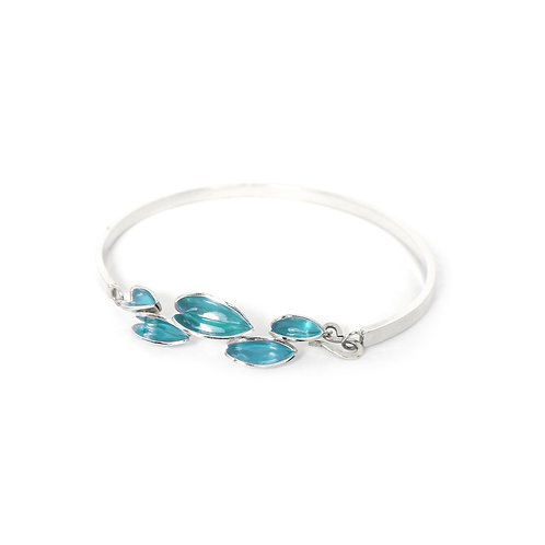 Reflect Bangle, Turquoise