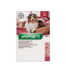 Advantage II pour chiens de 11 à 25 kg Bayer