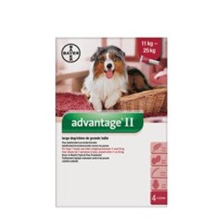 Advantage II pour chiens de 11 à 25 kg - Bayer