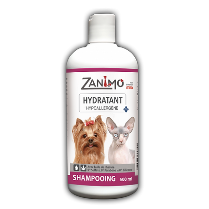 Shampooing argan et aloès - Zanimo