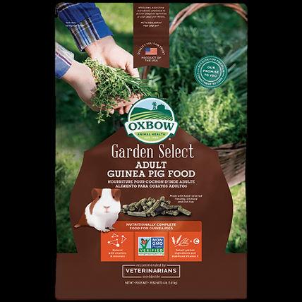 Nourriture pour cobaye adulte Garden Select Oxbow