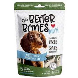 Zeus Better Bones au lait pour chien
