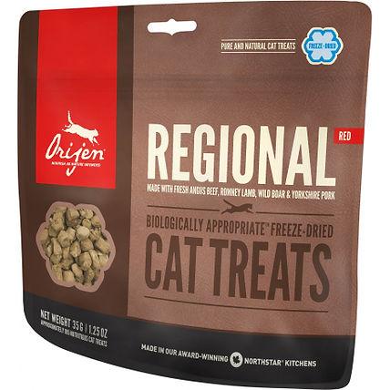 Gâteries Regional Rouge Orijen pour chats