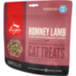 Gâteries Orijen Romney Lamb pour chats