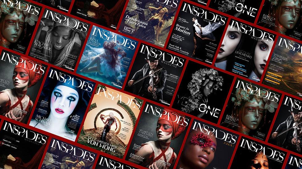 INSPADES Magazine covers