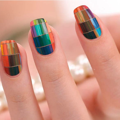 """""""Artfully Done"""" Nail Polish Stickers by Candied Nails"""