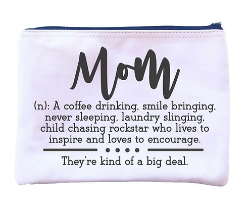 """Mom"" definition Universal Zipper Pouch"