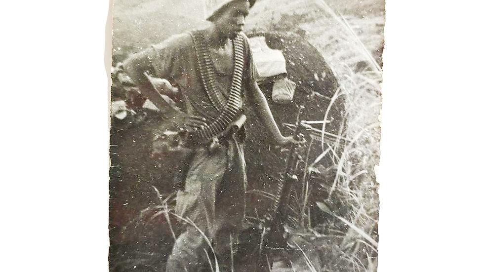 Vintage Vietnam Love Letter On Photograph
