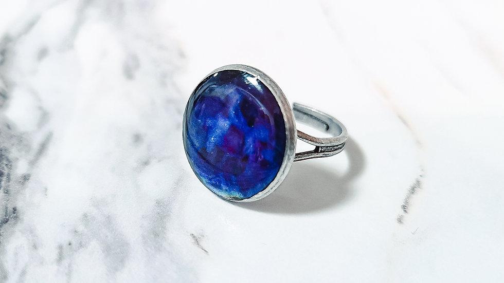 Exclusive Mood Ring Adjustable Antique Silver