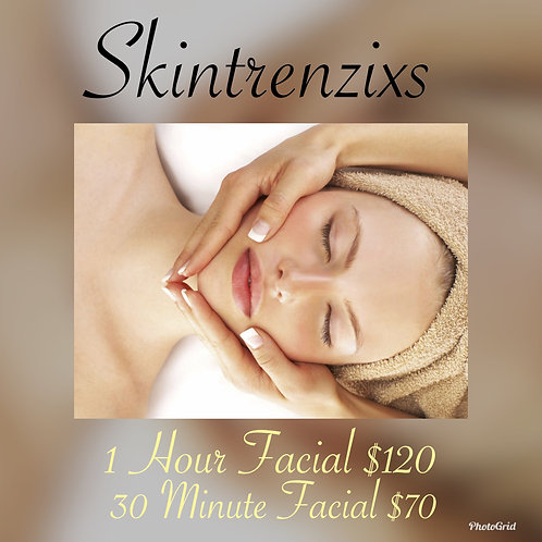 Facial - 30 Minute customized facial - Service Only