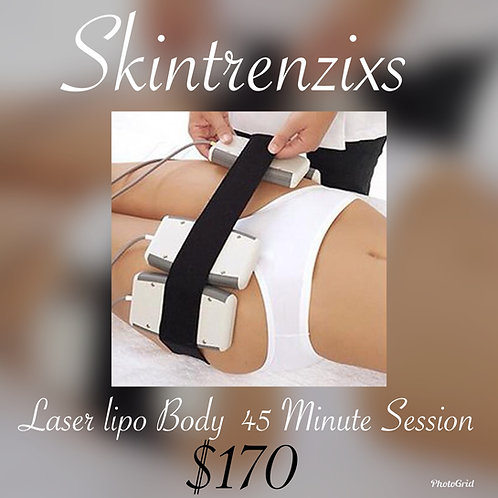 Laser Lipo - 45 Minute Session - Service Only