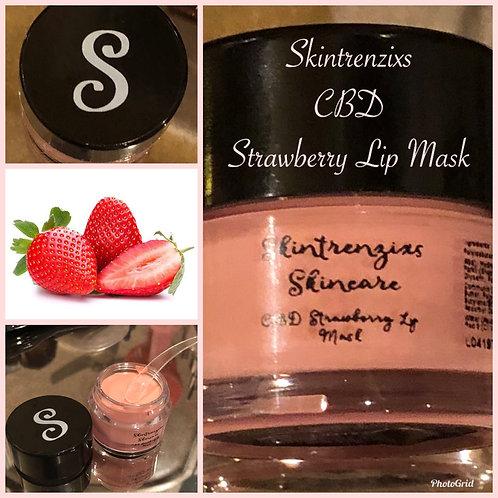 CBD Strawberry Lip Mask