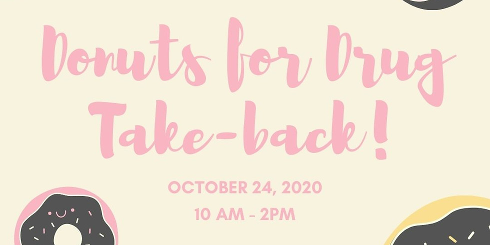 Donuts for Drug Take-back