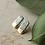 Thumbnail: Green marble earrings