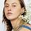 Thumbnail: Blue porcelain earrings S