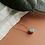 Thumbnail: Light blue porcelain necklace