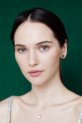 Grey earrings XS
