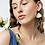 Thumbnail: White porcelain earrings